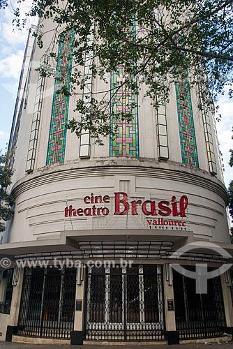 Fachada do Centro Cultural Cine Theatro Brasil Vallourec - antigo Cine Theatro Brasil  - Belo Horizonte - Minas Gerais (MG) - Brasil