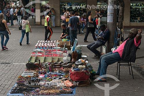 Comércio de artesanato no centro de Belo Horizonte  - Belo Horizonte - Minas Gerais (MG) - Brasil