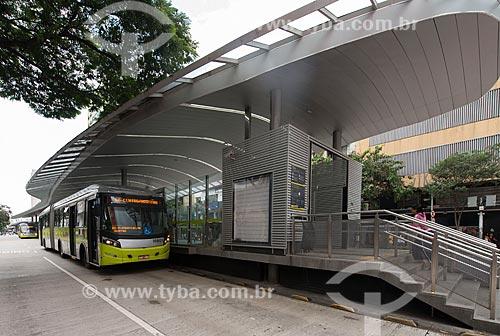 Estação MOVE Tamoios - Corredor MOVE Área Central  - Belo Horizonte - Minas Gerais (MG) - Brasil