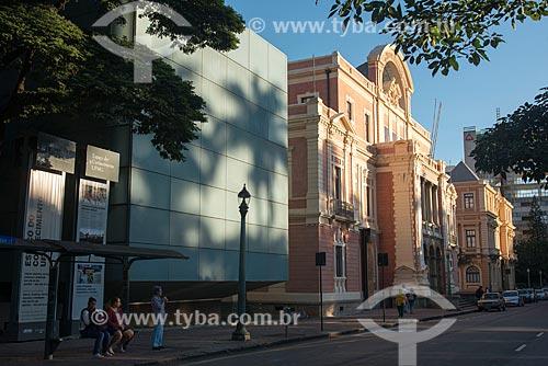 Espaço do conhecimento UFMG e o Museu das Minas e do Metal - antiga Secretária da Educação de Minas Gerais e integrante do Circuito Cultural Praça da Liberdade  - Belo Horizonte - Minas Gerais (MG) - Brasil