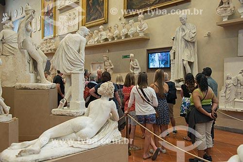 Reproduções de obras de escultores renascentistas na Galleria dell Accademia di Firenze (Galeria da Academia de Belas Artes de Florença) - 1784  - Florença - Província de Florença - Itália