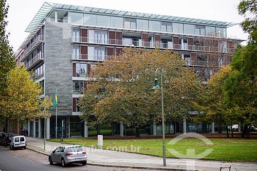 Prédio da Embaixada do Brasil na Alemanha  - Berlim - Berlim - Alemanha