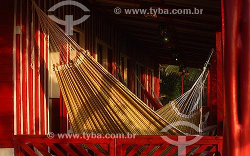 Rede em varanda de casa no Amazonas  - Manaus - Amazonas (AM) - Brasil