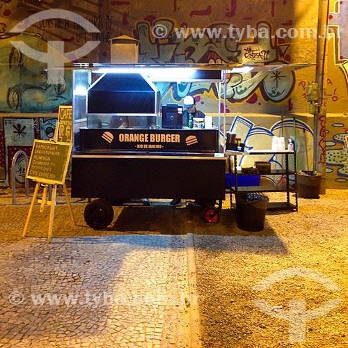 Vendedor ambulante de sanduíches  - Rio de Janeiro - Rio de Janeiro (RJ) - Brasil