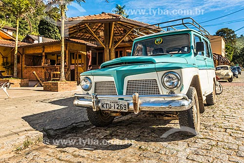 Ford Rural Willys estacionado no distrito de Visconde de Mauá  - Resende - Rio de Janeiro (RJ) - Brasil