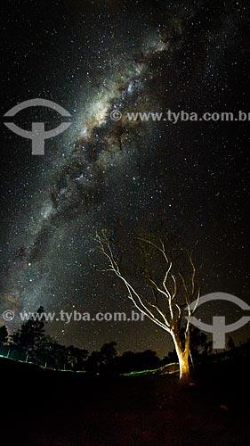 Vista da Via Láctea no Vale do Alcantilado  - Bocaina de Minas - Minas Gerais (MG) - Brasil