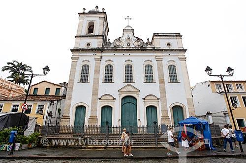Fachada da Igreja de São Pedro dos Clérigos (século XVIII)  - Salvador - Bahia (BA) - Brasil