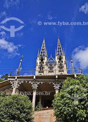 Fachada da Igreja de Nossa Senhora do Bonsucesso  - Laje do Muriaé - Rio de Janeiro (RJ) - Brasil