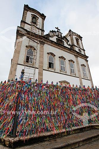 Fitinhas coloridas nas grades da Igreja de Nosso Senhor do Bonfim (1754)  - Salvador - Bahia (BA) - Brasil