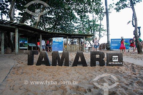Sede do Projeto TAMAR  - Mata de São João - Bahia (BA) - Brasil