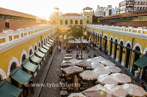 Vão central do Mercado Público Municipal de Florianópolis (1899)  - Florianópolis - Santa Catarina (SC) - Brasil
