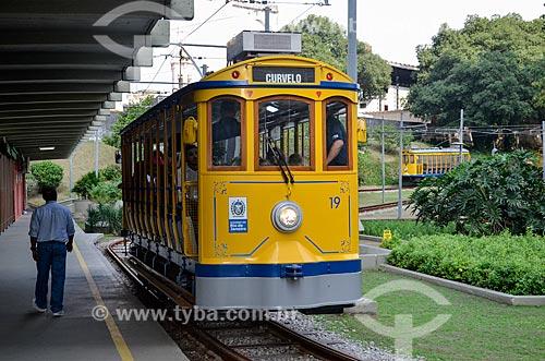 Turistas no Bonde de Santa Teresa  - Rio de Janeiro - Rio de Janeiro (RJ) - Brasil