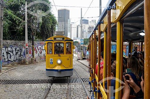 Bonde de Santa Teresa  - Rio de Janeiro - Rio de Janeiro (RJ) - Brasil