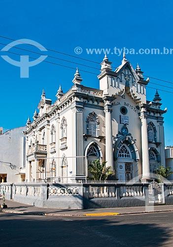 Igreja Batista  - Santo Antônio de Pádua - Rio de Janeiro (RJ) - Brasil