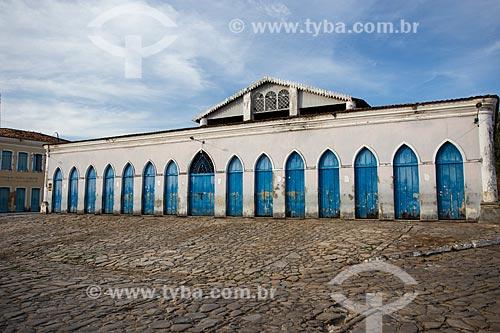 Mercado Público Municipal  - Laranjeiras - Sergipe (SE) - Brasil