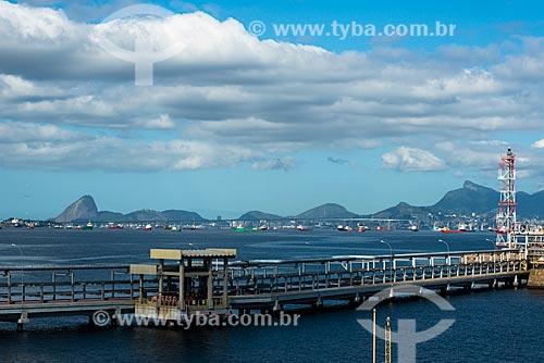 Plataforma que liga as ilhas Redonda e Comprida - Terminal Aquaviário Baía de Guanabara (TABG)  - Rio de Janeiro - Rio de Janeiro (RJ) - Brasil