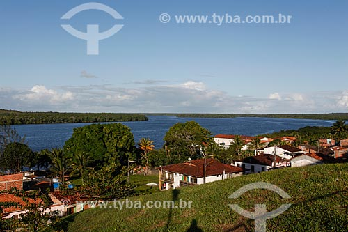 Vista do Rio Cairu  - Cairu - Bahia (BA) - Brasil