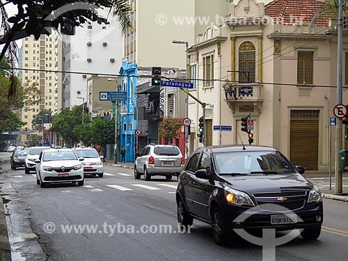 Tráfego na Rua Augusta  - São Paulo - São Paulo (SP) - Brasil