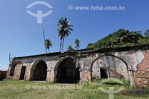 Fortaleza do Tapirandu ou Forte do Morro de São Paulo (1630)  - Cairu - Bahia (BA) - Brasil