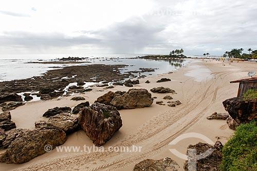Vista da orla da 2ª Praia  - Cairu - Bahia (BA) - Brasil