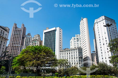 Edifícios na região do Vale do Anhangabaú  - São Paulo - São Paulo (SP) - Brasil