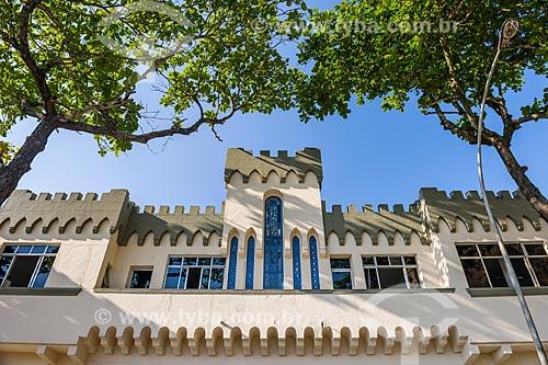 Fachada do Forte Duque de Caxias - também conhecido como Forte do Leme  - Rio de Janeiro - Rio de Janeiro (RJ) - Brasil