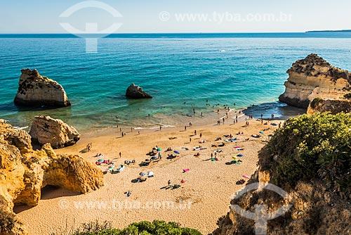 Vista da Praia dos Três Irmãos  - Concelho de Portimão - Distrito de Faro - Portugal
