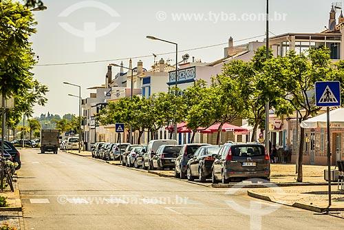 Avenida Engenheiro Duarte Pacheco na freguesia de Santa Luzia  - Concelho de Tavira - Distrito de Faro - Portugal