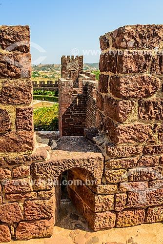Muro do Castelo de Silves (XIII century)  - Concelho de Silves - Distrito de Faro - Portugal