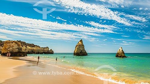 Orla da Praia dos Três Irmãos  - Concelho de Portimão - Distrito de Faro - Portugal