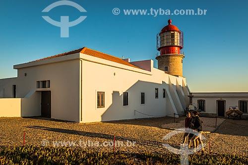 Farol do cabo de São Vicente - parte do Parque Natural do Sudoeste Alentejano e Costa Vicentina  - Concelho de Vila do Bispo - Distrito de Faro - Portugal