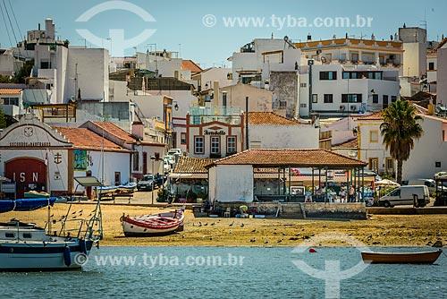 Vista da freguesia de Alvor a partir do mar  - Concelho de Portimão - Distrito de Faro - Portugal