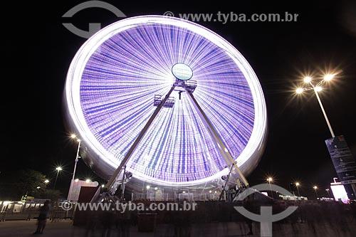 Roda-gigante durante o Rock in Rio 2015  - Rio de Janeiro - Rio de Janeiro (RJ) - Brasil