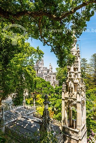 Palácio da Regaleira (XIX century) - também conhecido como Palácio do Monteiro dos Milhões na Quinta da Regaleira  - Concelho de Sintra - Distrito de Lisboa - Portugal