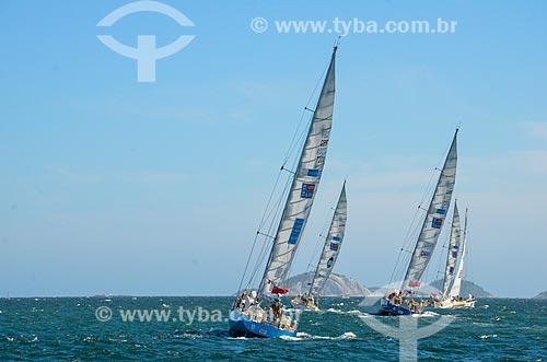 Barcos na Marina da Glória durante a regata Clipper Round The World Race  - Rio de Janeiro - Rio de Janeiro (RJ) - Brasil