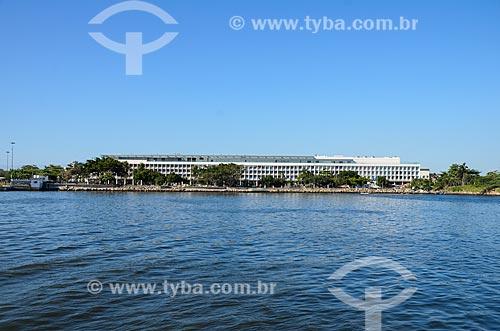 Vista do Bossa Nova Mall a partir da Baía de Guanabara  - Rio de Janeiro - Rio de Janeiro (RJ) - Brasil