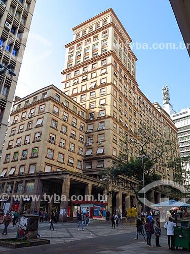 Vista geral do Edifício Sulacap (1949)  - Porto Alegre - Rio Grande do Sul (RS) - Brasil