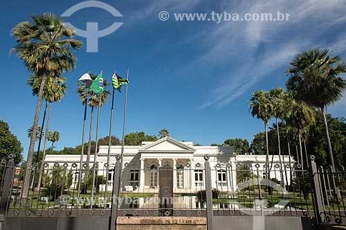 Palácio Karnak (1933) - sede do Governo do Estado  - Teresina - Piauí (PI) - Brasil