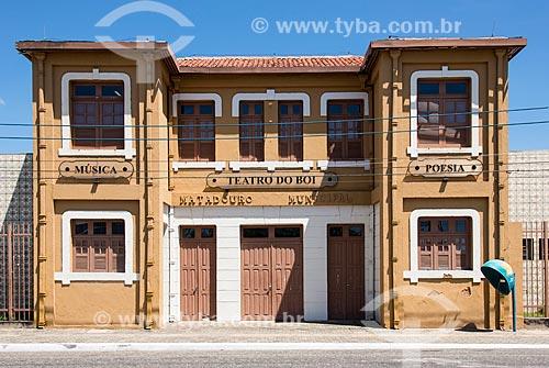 Fachada do Teatro do Boi  - Teresina - Piauí (PI) - Brasil
