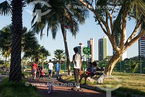 Pessoas no Parque Potycabana  - Teresina - Piauí (PI) - Brasil