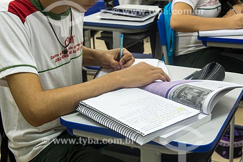 Aluno do Centro de Ensino Médio de Tempo Integral João Henrique de Almeida Souza  - Teresina - Piauí (PI) - Brasil