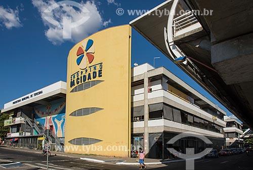 Fachada do Shopping da Cidade de Teresina  - Teresina - Piauí (PI) - Brasil