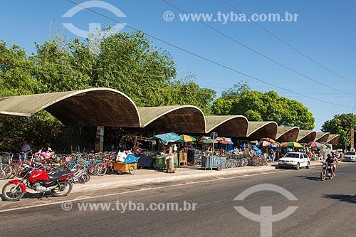 Vista geral da feira do troca-troca de Teresina  - Teresina - Piauí (PI) - Brasil