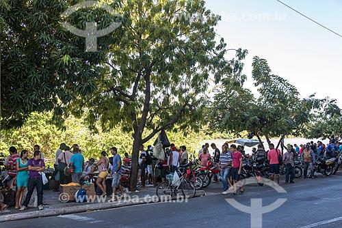 Barracas na feira do troca-troca de Teresina  - Teresina - Piauí (PI) - Brasil