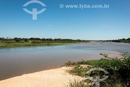 Parque Municipal do Encontro dos Rios - vista do encontro das águas do Rio Poti e Rio Parnaíba  - Teresina - Piauí (PI) - Brasil