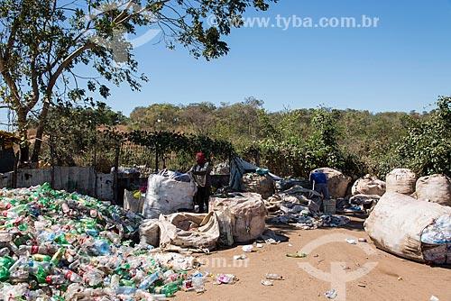 Catadores no Aterro sanitário de Teresina  - Teresina - Piauí (PI) - Brasil