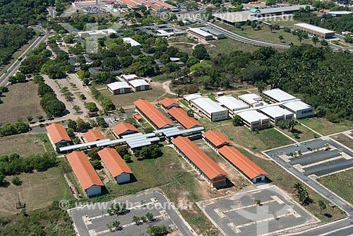 Foto aérea do Centro de Tecnologia da Universidade Federal do Piauí - Campus Teresina Ministro Petrônio Portella  - Teresina - Piauí (PI) - Brasil