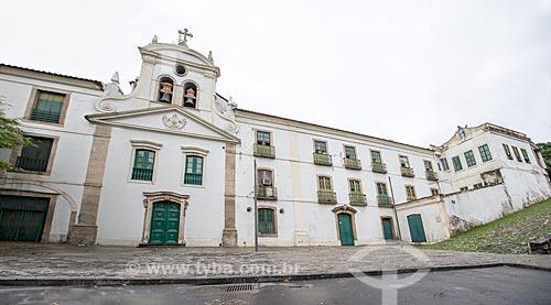 Fachada da Igreja de Nossa Senhora do Bonsucesso (1780)  - Rio de Janeiro - Rio de Janeiro (RJ) - Brasil