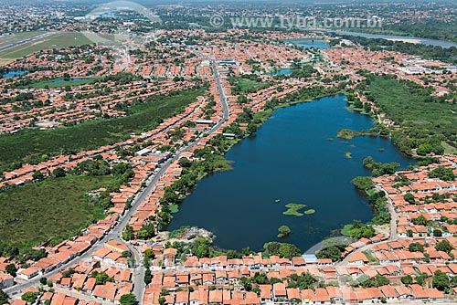 Foto aérea da  Lagoa Piçarreira  - Teresina - Piauí (PI) - Brasil