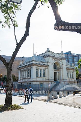 Vista da fachada do Museu da Imagem e do Som do Rio de Janeiro (MIS)  - Rio de Janeiro - Rio de Janeiro (RJ) - Brasil